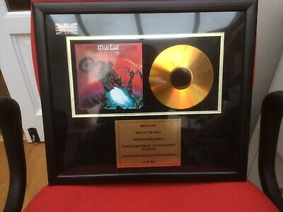 Meat Loaf Framed Bat Out Of Hell Limited Edition • 25£
