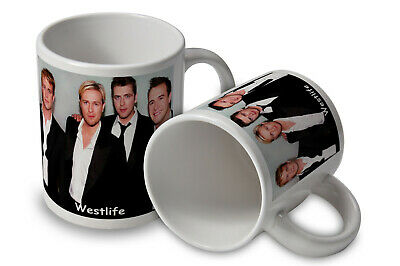 WESTLIFE Mug Great Gift Can Be Personalised Free Of Charge • 8.20£