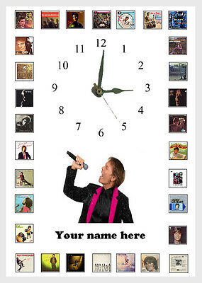Cliff Richard  Wall Clock  Great Gift Personalised  • 15.20£