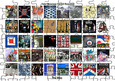 The Who Rock Group Album Cover   JIGSAW PUZZLE A4 120 PIECE  Personalised Free • 6.99£