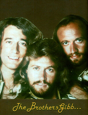 Bee Gees Poster Page . Saturday Night Fever . Stayin Alive . T80 • 5.99£
