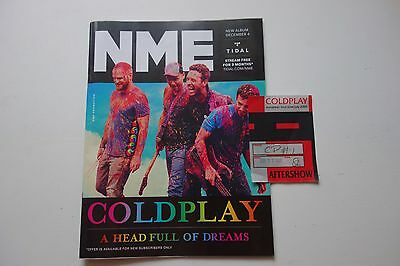 Coldplay European Tour 2004 2005 Aftershow Patch + Nme Magazine • 14.99£