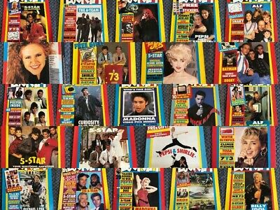 Look In Magazine Music Pictures Pop Stars 1987 1988 • 8.99£
