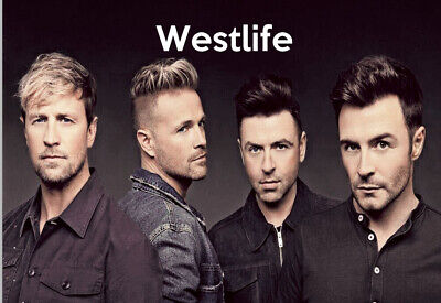 WESTLIFE 02   JIGSAW PUZZLE A4 120 PIECE Great Gift Idea  Free Postage • 6.99£