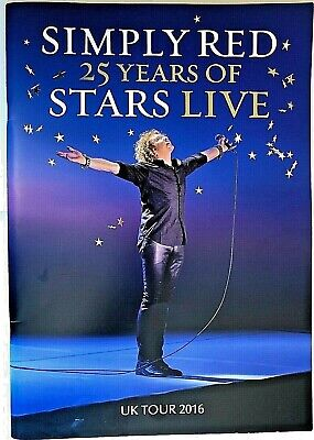 Simply Red - 25 Years Of Stars Live - Platinum Souvenir Pack • 24.99£