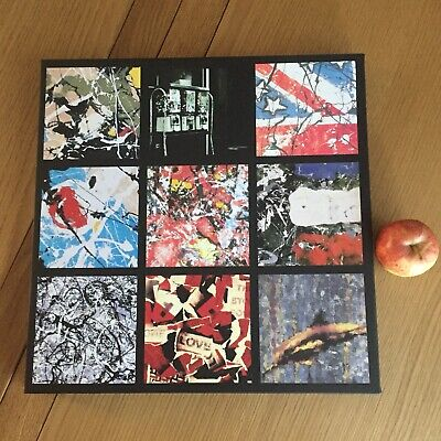 The Stone Roses 14x14 Inch College Canvas Gift Art Manchester Black • 24.99£
