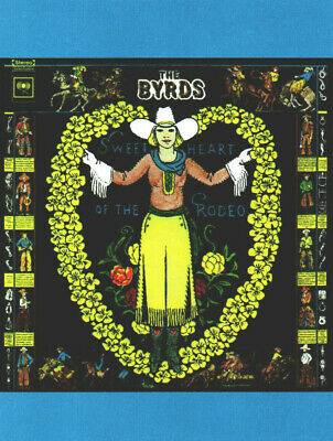 BYRDS, GRAM PARSONS POSTER ~ SWEETHEART OF THE RODEO. Size Large-A2. • 9.99£