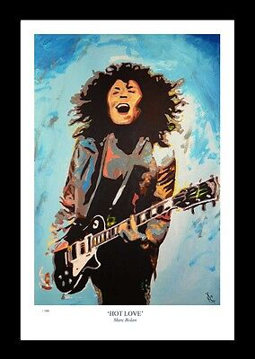 HOT LOVE: Marc Bolan - FINE ART PRINT • 13£