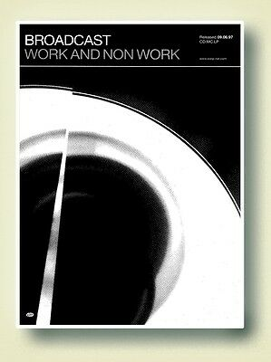 Broadcast Work And Non Work Poster • 7.99£