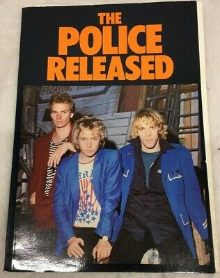 The Police Released Book Proteus Sting Andy Stewart 100 Great Photographs • 11.85£