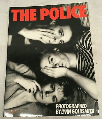 Vintage The Police A Visual Documentary By Lynn Goldsmith 1976 Photos Book • 7.41£