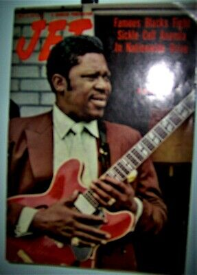 B.B.KING JET Magazine October 7th 1971 Famous Blacks Fight Sickle Cell Anemia  • 21.46£