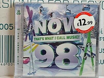Now That's What I Call Music! Now 98 - CD - New & Sealed - WC4 • 2.84£