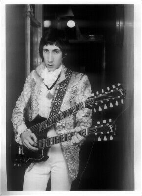 The Who Poster Page . 1967 Pete Townshend Gibson Double Neck Guitar . Qw4 • 6.99£