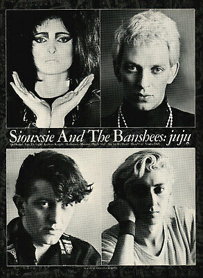 SIOUXSIE AND THE BANSHEES POSTER. JUJU. A2 Repro. Punk. • 10.99£
