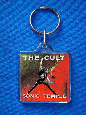 The Cult Sonic Temple Keyring Southern Death Cult Ian Astbury Electric • 1.85£