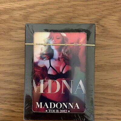 MADONNA MDNA TOUR 2012 New SEALED PLAYING CARDS Very Limited Edition Item • 35£