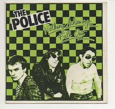 The Police Fall Out Rare Uk Cover Mispressing • 49.99£