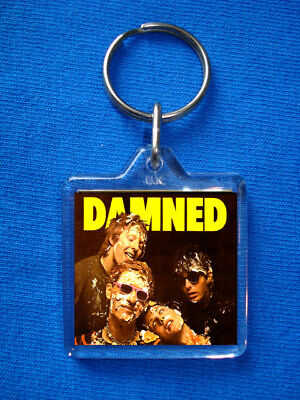 The Damned  Keyring Sex Pistols Clash Buzzcocks Stranglers Punk  • 1.85£