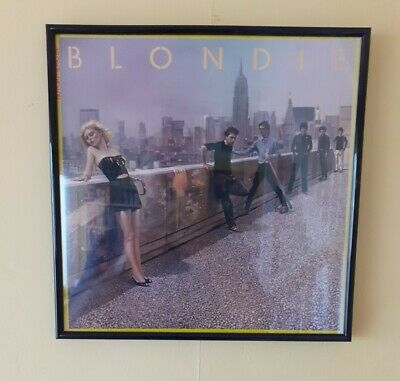 Blondie Framed Automative Album (vinyl Included) • 20£