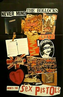 Sex Pistols Posters NMTB Promo, Screen On Green 76, Generation X Live 1978 All 3 • 14.99£