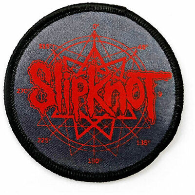SLIPKNOT Logo Nanogram Embroidered Iron On Patch Official Licensed Band Merch • 3.99£