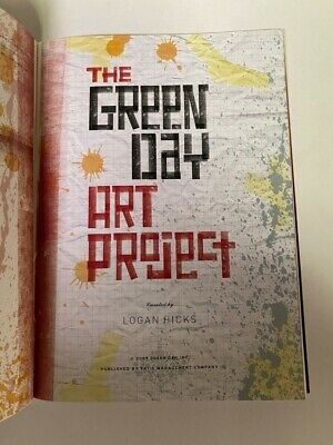 The Green Day Art Project Green Day Lyrics Illustrated 50 Page Art Book Ltd 100 • 11.84£