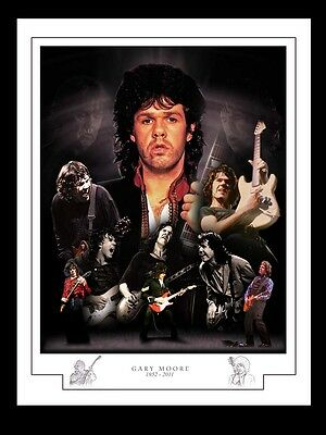 Gary Moore Montage Print • 13£