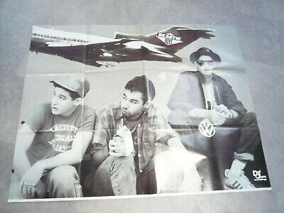 Vintage Beastie Boys Promo Poster Def Jam Records Licensed To Ill • 40£