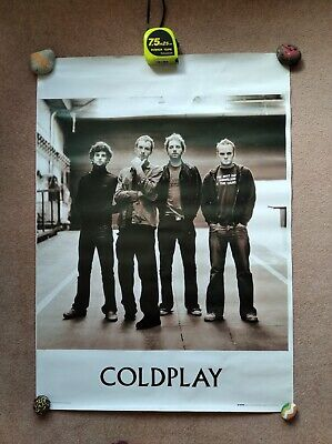 Coldplay, Large Poster Print, 2004, A Rush Of Blood To The Head, 26  X 36  • 35£