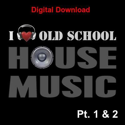 DJ Friendly Old School Classic House Music Collection 3,100+ Unmixed Download • 9.99£
