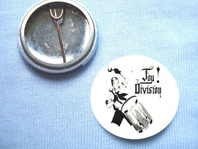 Joy Division  25mm Badge New Order Ian Curtis Unknown Pleasures Closer Factory • 0.99£