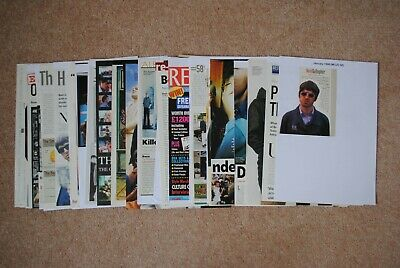 Oasis - Huge Cuttings Collection Part 5 1998-1999 • 15£