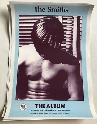 The Smiths 3 X A3 Poster Print Hand In Glove Shoplifters Of The World Morrissey • 24.99£