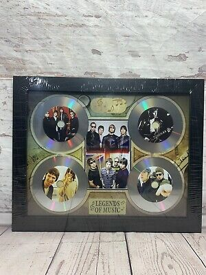 Oasis Band Framed Picture Disc Album CD Music Memorabilia Legends Of Music • 16.99£