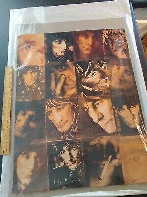 Ronnie Wood (Rolling Stones) Poster • 15£