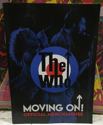 The Who Moving On Official Merchandise 2019 Catalog  • 7.50£