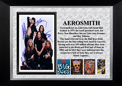 Aerosmith Music Legends Framed Print • 12.50£