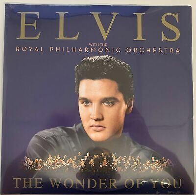 Elvis Presley-Wonder Of You With The Royal Philharmonic Orchestra) 2LP Vinyl New • 13.99£