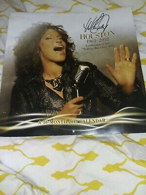 Whitney Houston 1963-2012 A Reflection Of Her Nothing But Love 16 Month Calendar • 19.85£