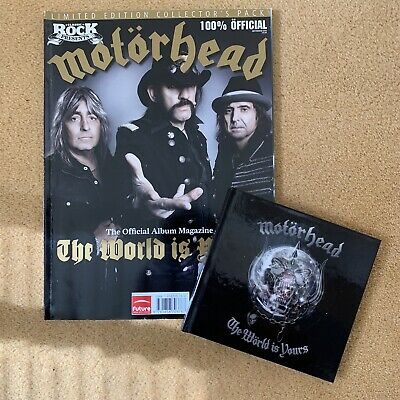 Motorhead The World Is Yours Classic Rock Magazine Limited Edition • 9.99£