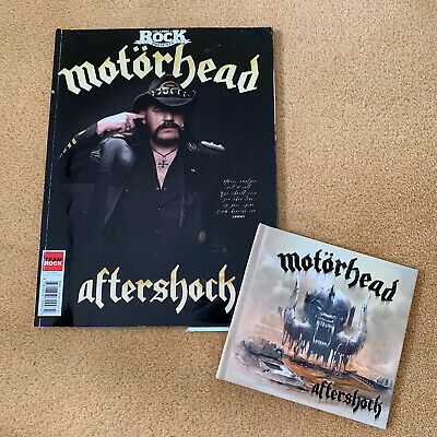 Motorhead Aftershock Classic Rock Magazine Limited Edition • 9.99£
