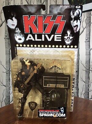 Kiss Alive Gene Simmons The Catman McFarlane Toys Year 2000 Never Been Opened • 22.99£