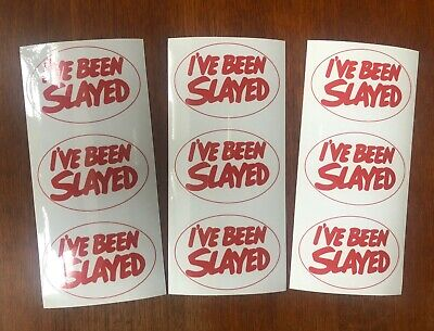 Slade STICKERS I've Been Slayed X9 New Repro! • 8.99£