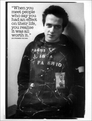 The Clash Poster Page . Joe Strummer. Cq10 • 7.99£