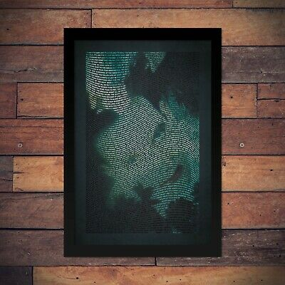The Cure - Disintegration - Typographic Poster • 27.74£