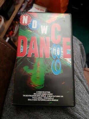 Now Dance 89 X VIDEO TAPE X VERY GOOD CONDITION FOR AGE X EXTREMELY RARE X 387 X • 59.99£