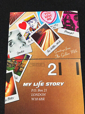 My Life Story Promo Card • 5£