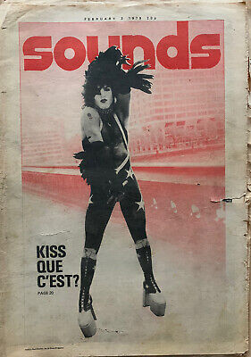 Vintage Sounds Magazine 1979 - Kiss, Queen, Gary Moore • 9.99£