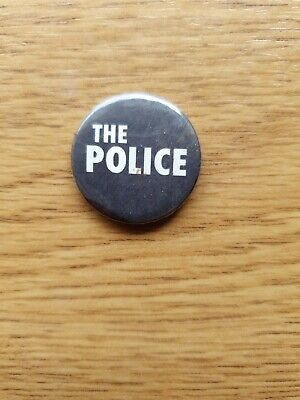 The Police Button Badge • 0.99£